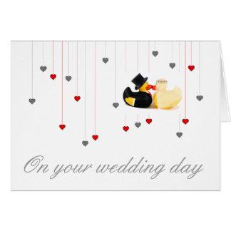 Wedding ducks 3 card