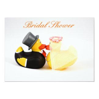 Wedding ducks - Bridal Shower Card
