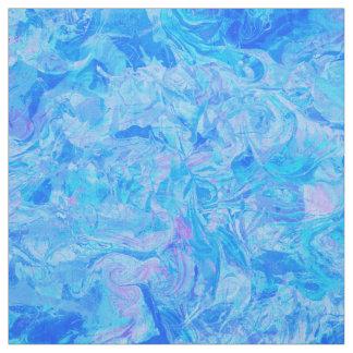 Wedding elegant blue marble chic pattern fabric