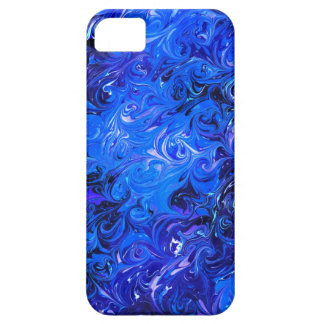 Wedding elegant blue vintage chic pattern barely there iPhone 5 case