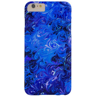 Wedding elegant blue vintage chic pattern barely there iPhone 6 plus case