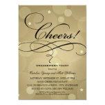 Wedding Engagement Party   Champagne Theme 13 Cm X 18 Cm Invitation Card