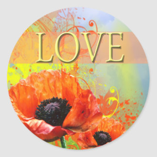 Wedding Envelope Love Seal Sticker