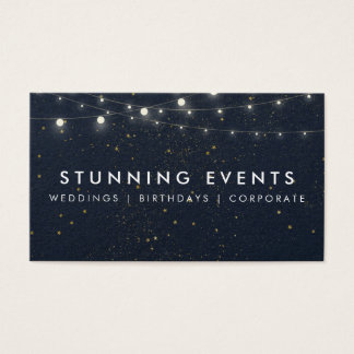 Wedding & Event Planner Business Card
