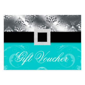 Wedding Event Planner Jewel Blue Silver Gift Card Pack Of Chubby Business Cards