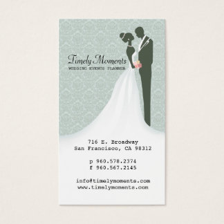 Wedding Events Planner Business Card