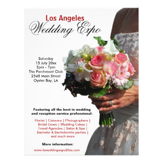 Wedding Expo Flyer