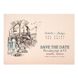 Wedding Express Save the Date Custom Invitations