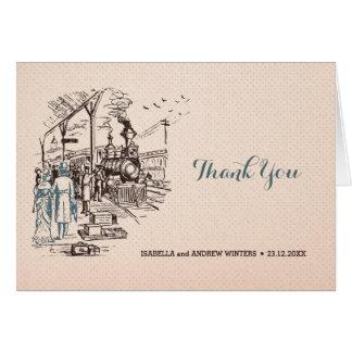 Wedding Express - Wedding Thank You Card