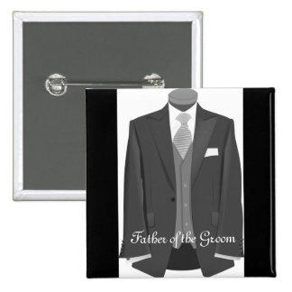 Wedding Father of the Groom Pin Button Badge Gift