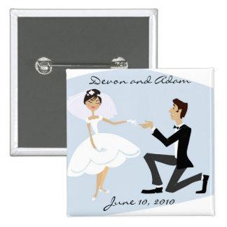 Wedding Favor Button