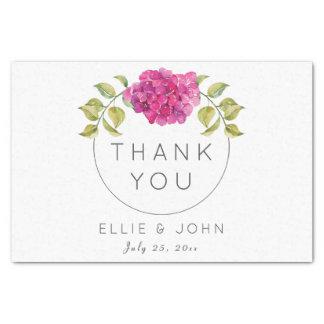 Wedding Favor Hot Pink Hydrangea Tissue Paper