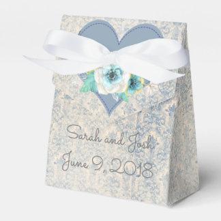 Wedding Favor in Blue Favour Box