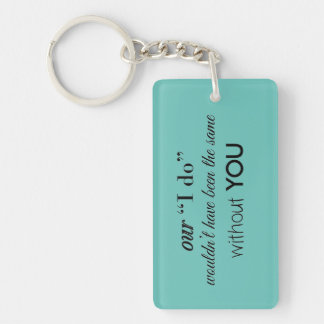 Wedding Favor Keychain