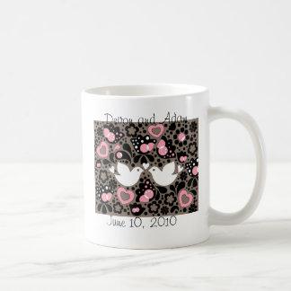Wedding Favor Love Birds Mug
