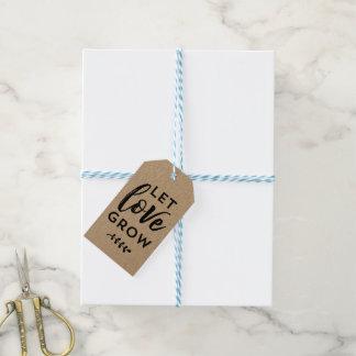 Wedding Favor Tag | Let Love Grow