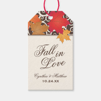 Wedding Favor Tags | Fall in Love Theme