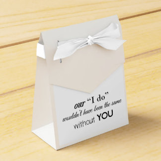 Wedding Favor Tent Favour Box