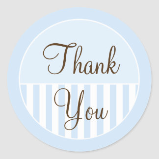 Wedding Favor Thank You Labels Round Sticker