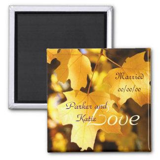 Wedding Favors magnets Bride Groom Love Married