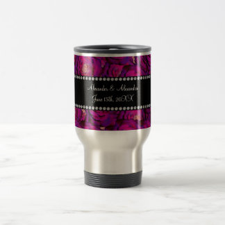 Wedding favors Purple roses Mug