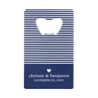 Wedding Favour Custom Bride Groom Date Stripe