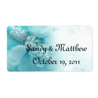 Wedding Favour Labels