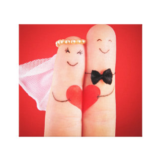 Wedding fingers by healinglove,fun cute lovely canvas prints