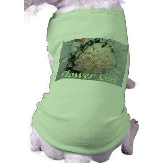 Wedding Flower Girl Pet Clothing