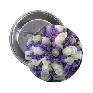 Wedding flowers button