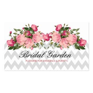 Wedding flowers florist Coordinator Planner Business Card