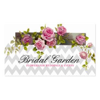 Wedding flowers florist Coordinator Planner Business Card Templates