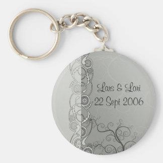 Wedding Frills Key Ring