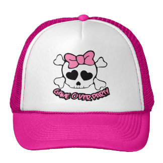 wedding,game over party,bride,bachelorettes hats