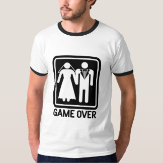 Wedding Game Over T-Shirt