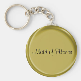 Wedding Gift Maid of Honor Keychain