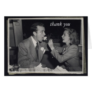 Wedding Gift Thank You Customizable Photo Note Card