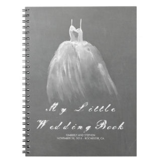 Wedding Gown Bride To Be Romantic Vintage Note Books