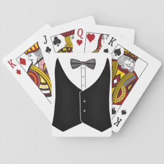 wedding, groom, bride, bridesmaid, best man playing cards