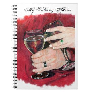 Wedding Hands Photo Album Notebook