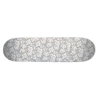 Wedding Hawaiian White Flower Skate Board Decks