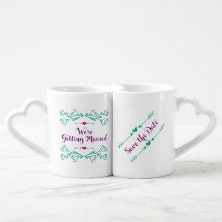 Wedding - Heart Mug Gift Set