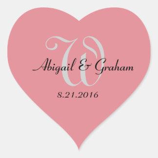 Wedding Heart Stickers