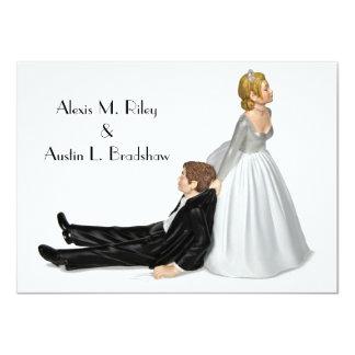Wedding Humour 11 Cm X 16 Cm Invitation Card