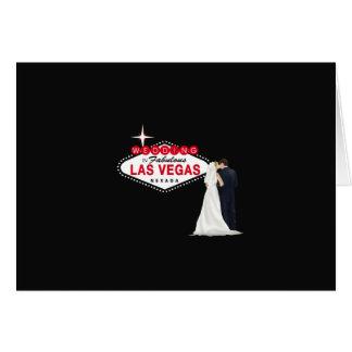 Wedding In Fabulous Las Vegas Card, B & G Card