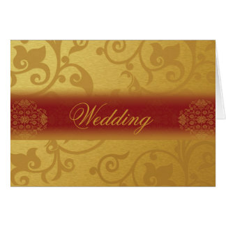 Wedding Invitation Card Folded Indian styles