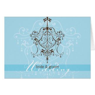 WEDDING INVITATION :: chandelier