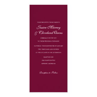 Wedding Invitation | Fine Wine |ma