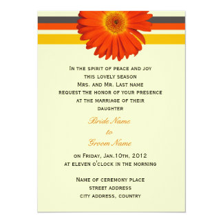 wedding invitation from bride's parents