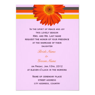wedding invitation from bride's parents personalized invites
